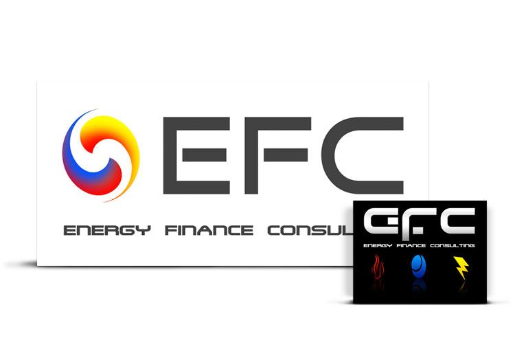 Diseño de Logotipo para EFC (Energy Finance Consulting)