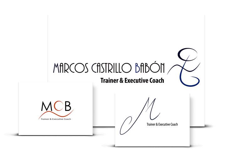 Diseño de Logotipo para Coaching Marcos Castrillo
